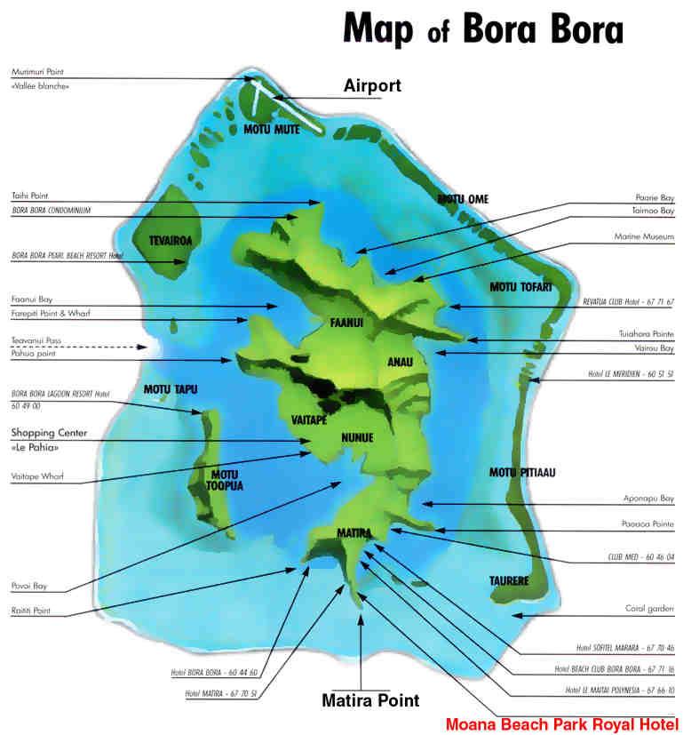 Island Tour Of Bora Bora